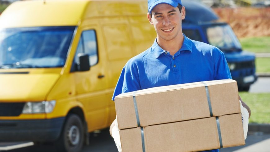 courier shipments