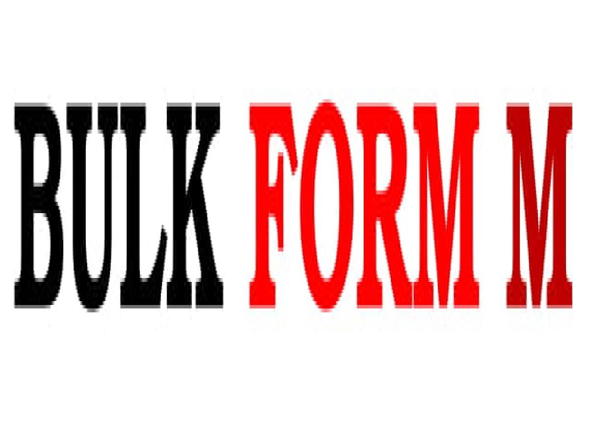 BULK FORM M